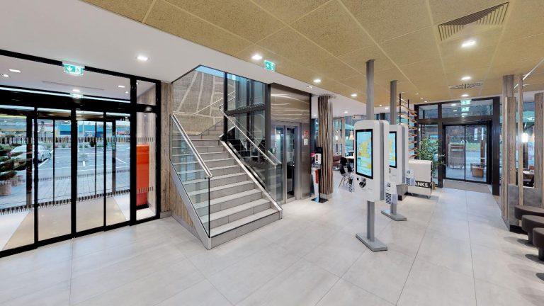 Mc-Donalds-Gralla Lobby 2 360 Grad Fotografie durch panoroom gmbh
