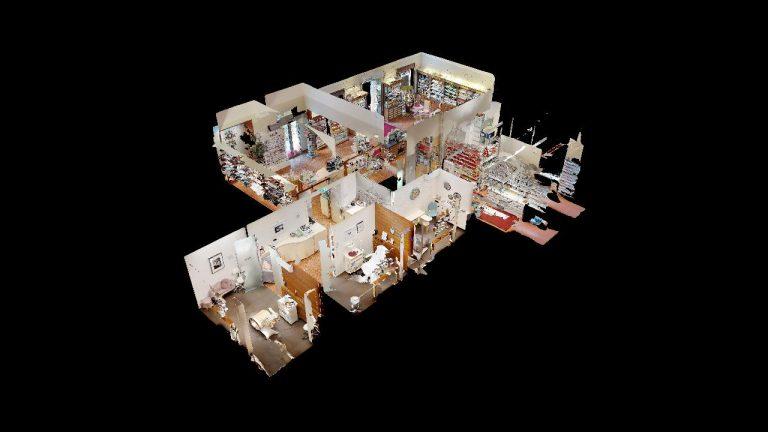 Opern-Apotheke-Graz Dollhouse Visualisierung in 360 grad durch panoroom.at
