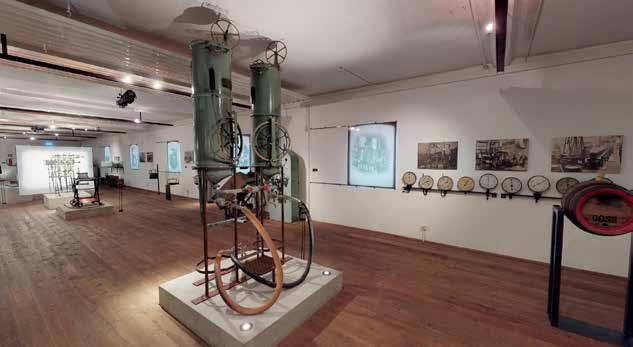 museum mit maschinen